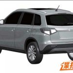 Suzuki Vitara rear quarter patent China