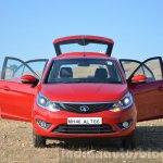 Tata Bolt 1.2T doors open front Review
