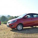 Tata Bolt 1.2T front three quarters Review