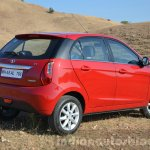 Tata Bolt 1.2T rear quarters view Review