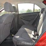 Tata Bolt 1.2T rear seat Review