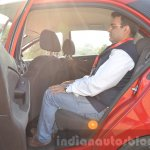 Tata Bolt 1.2T rear space Review