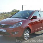 Tata Bolt 1.2T tracking front quarters Review