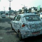 Tata Kite rear hatch spied