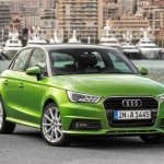 Audi A1 Sportback front three quarter