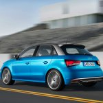 Audi A1 Sportback rear motion tracking