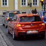 2015 BMW M135i rear spied