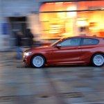 2015 BMW M135i side spied