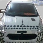 2015 Ford Figo front India spied