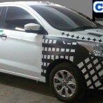2015 Ford Figo front quarter India spied