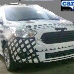 2015 Ford Figo grille India spied
