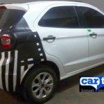 2015 Ford Figo rear quarter India spied
