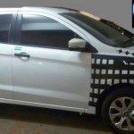 2015 Ford Figo side India spied
