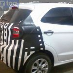 2015 Ford Figo taillights India spied