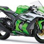 2015 Kawasaki Ninja ZX 10R 30th Anniversary Edition front three quarter green