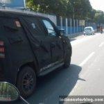 Mahindra U301 Bolero replacement spied in Chennai alloy wheels