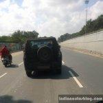 2015 Mahindra U301 Bolero replacement spied in Chennai rear