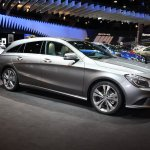 2015 Mercedes Benz CLA shooting brake side in Brussels