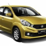 2015 Perodua Myvi 1.3 Premium X front three quarter official