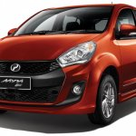 2015 Perodua Myvi 1.5 XE front three quarter official
