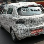 2015 Tata Kite rear three quarter spied