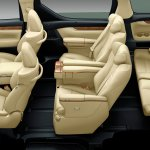 2015 Toyota Alphard interior seating Japan