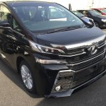 2015 Toyota Vellfire front three quarter