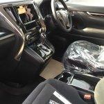 2015 Toyota Vellfire interior dashboard