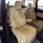 2015 Toyota Vellfire interior rear seats