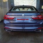 2016 BMW 7 Series rear fully revealed