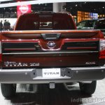 2016 Nissan Titan XD rear at the 2015 Detroit Auto Show