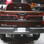 2016 Nissan Titan XD rear view at the 2015 Detroit Auto Show
