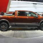 2016 Nissan Titan XD side at the 2015 Detroit Auto Show
