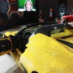 Alfa Romeo 4C Spider at the 2015 Detroit Auto Show interior