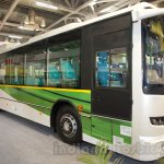 Ashok Leyland FESLF CNG front quarters at the Bus and Special Vehicles Show 2015