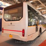 Ashok Leyland FESLF CNG rear quarter at the Bus and Special Vehicles Show 2015