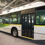 Ashok Leyland FESLF CNG rear quarters at the Bus and Special Vehicles Show 2015