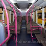 Ashok Leyland Optare Versa EV inside at the Bus and Special Vehicles Show 2015