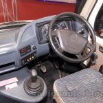 Force Super Luxury Traveller driver seat at the Bus and Special Vehicles Show 2015