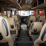 Force Super Luxury Traveller interior at the Bus and Special Vehicles Show 2015