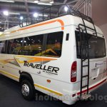 Force Super Luxury Traveller rear quarters at the Bus and Special Vehicles Show 2015