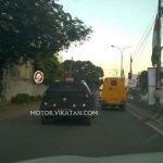 Hyundai ix25 rear end spied Chennai
