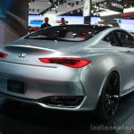 Infiniti Q60 Concept rear three quarter at the 2015 Detroit Auto Show