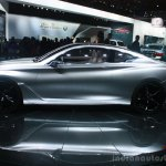 Infiniti Q60 Concept side at the 2015 Detroit Auto Show