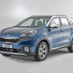 Kia KX3 front three quarter leaked official pic China