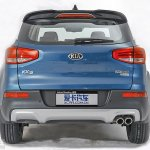 Kia KX3 rear leaked official pic China