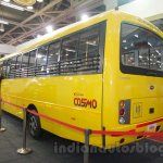 Mahindra Tourister School Bus rear quarter at Bus and Special Vehicles Show 2015