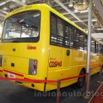 Mahindra Tourister School Bus rear quarters at Bus and Special Vehicles Show 2015