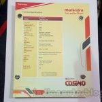 Mahindra Tourister School Bus specs at Bus and Special Vehicles Show 2015