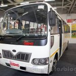 Mahindra Tourister front quarter at Bus and Special Vehicles Show 2015